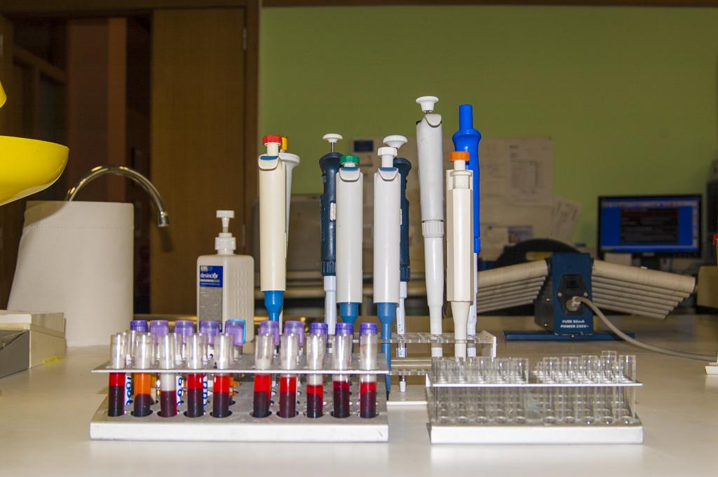 Muestras de análisis clínicos CEyDES