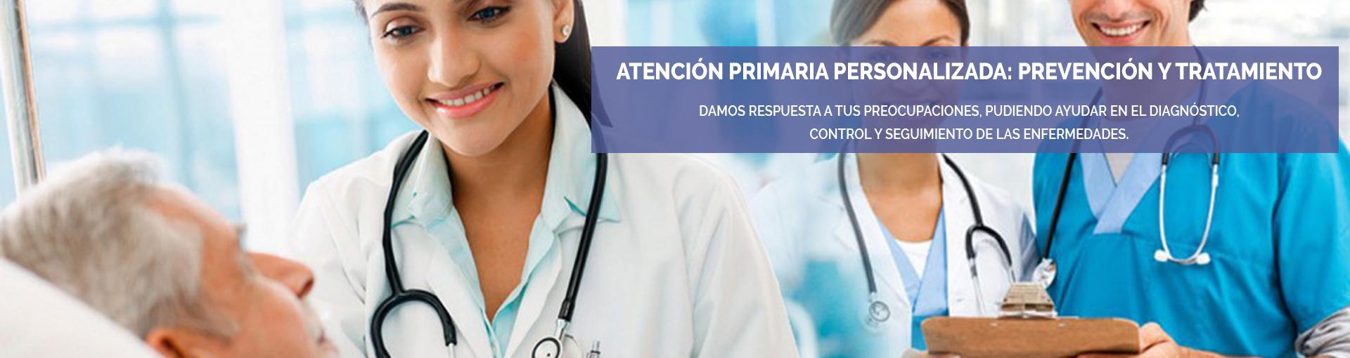 Atención primaria personalizada. Atención en el domicilio del paciente. Atención en consulta. Laboratorio en Zaragoza. Análisis clínicos en Zaragoza