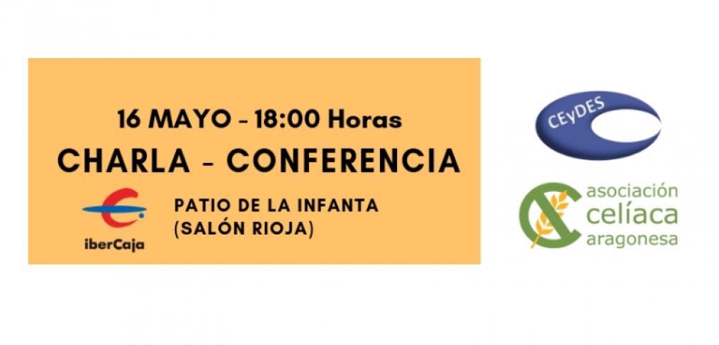 Conferencia sobreCeliaquía en Zaragoza