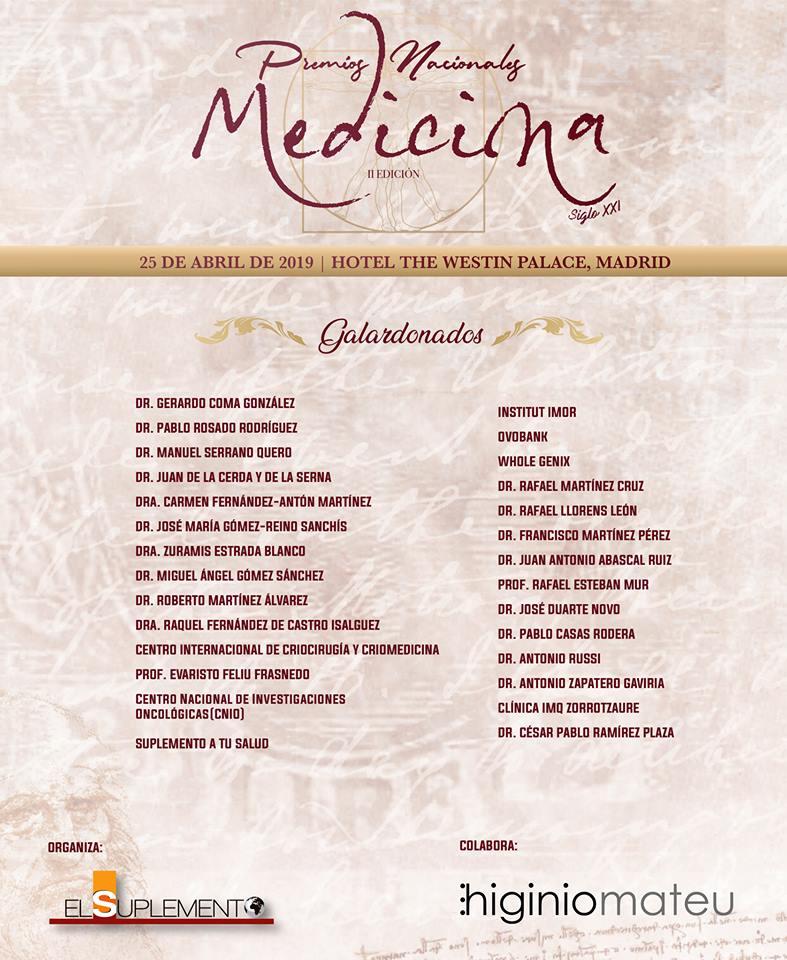 CEyDES Premio Nacional de Medicina Siglo XXI