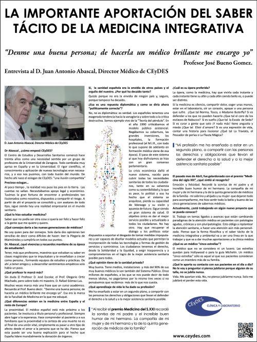 CEyDES La importante aportación de la medicina integrativa