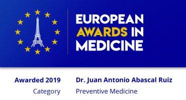 EUROPEAN AWARDS IN MEDICINE 2019