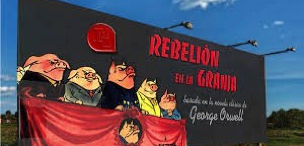 """COVID-19, G.Orwell."""" Rebelíon en la granja"""""""